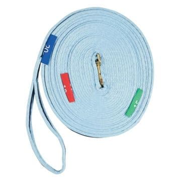 Kincade Two Tone Lunge Line With Circle Markers